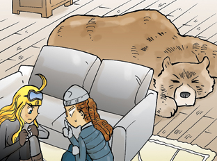 Carrot 87:  เจอหมี