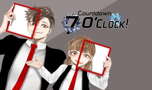 Countdown 7 o'clock!