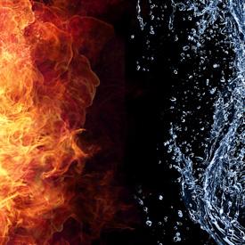 ไฟล้อมน้ำ